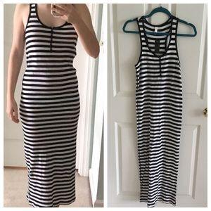 Stretchy striped maxi dress from Xhilaration