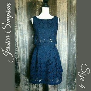 Jessica Simpson 2 Peice Matching Skirt & Top