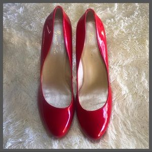 Red high heels Marc Fisher Sz. 9.5
