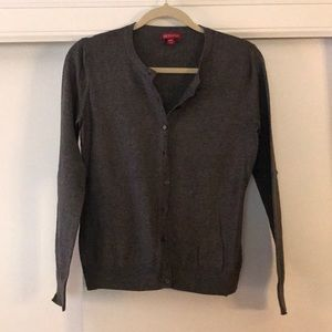 Grey Merona cardigan sweater