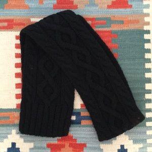 Jcrew Black knit scarf
