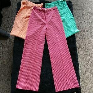 70s-tastic poly pants