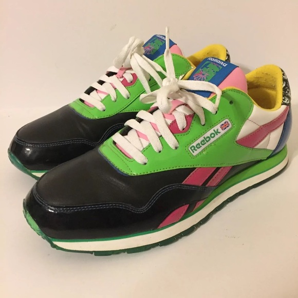 new concept aee5a 00d38 ... City Series XMV30403543  Reebok x Rolland Berry Classic Collab Shoes Sz  11 ...