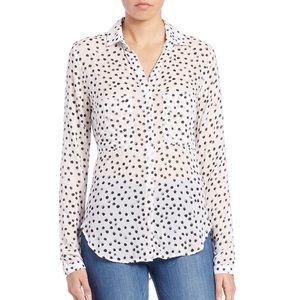 Anthropologie Cloth & Stone Polka Dot Shirt