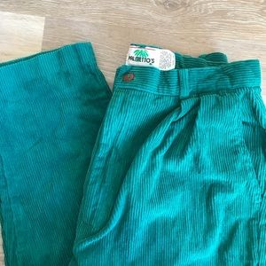 Vintage Palmetto's Pleated Corduroy Pants