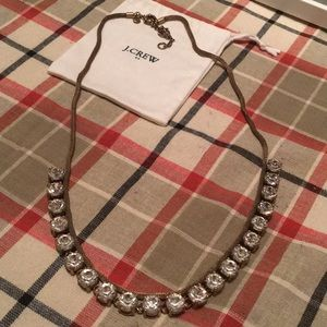J. Crew gold sparkle necklace