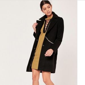 Missguided wool coat