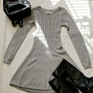 Girls skater sweater dress