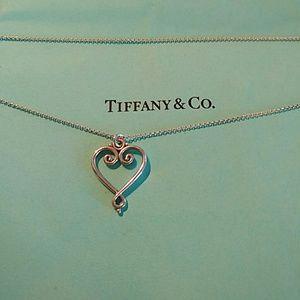 Tiffany & Co RARE AUTHENTIC PALOMA HEART