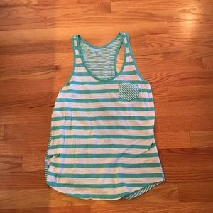 Gap Striped Pocket Tank Top, Gently Used