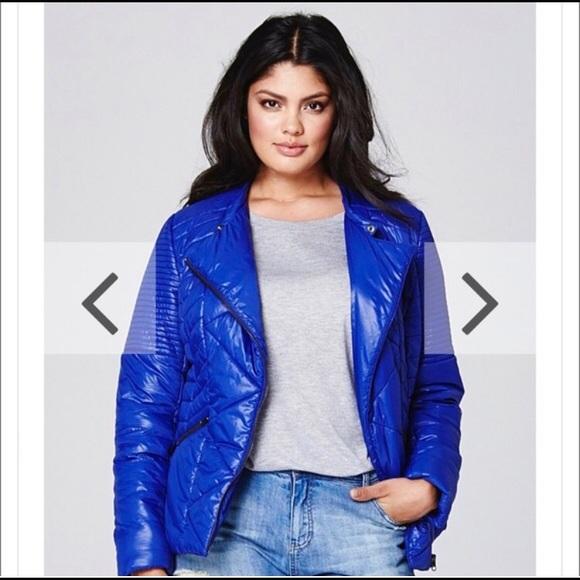 Simply Be Jackets & Blazers - Padded biker jacket