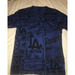 LA Dodgers Comic Print Shirt