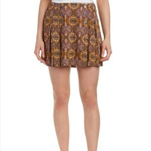 Free People Lovers Lane Mini Skirt Size 4