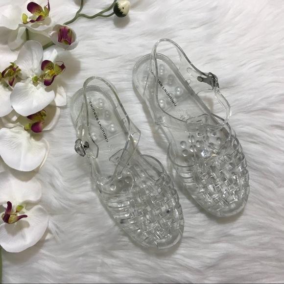 "cde00bdb2238 Chinese Laundry Shoes - CHINESE LAUNDRY ""FELIZ"" JELLIES - SIZE 7"