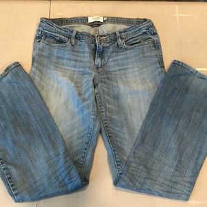 Abercrombie & Fitch Emma Stretch Jeans 6R Faded