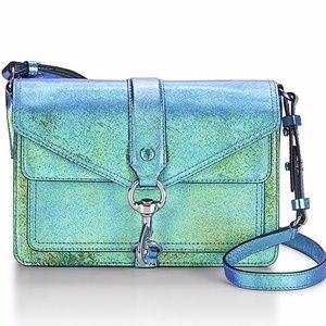 Rebecca Minkoff Mini Hudson Blue Iridescent Bag