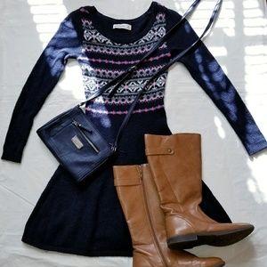 Girls skater sweater dresses dress