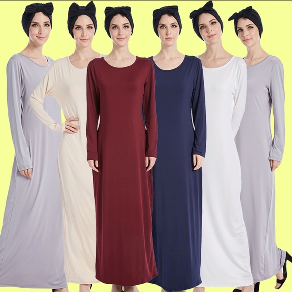 73b240b2082 Long abaya maxi dress high quality material