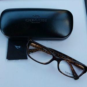 Coach Glasses, Case, Cloth