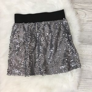 Buttons Francescas Sequin Skirt