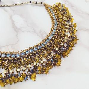 Jewelry - Gold/Yellow/Blue Choker