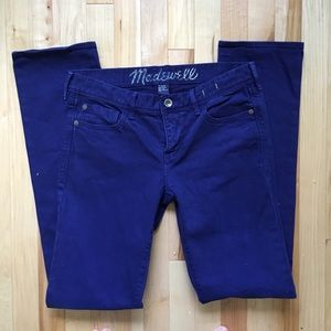 Madewell rail straight jeans size 28