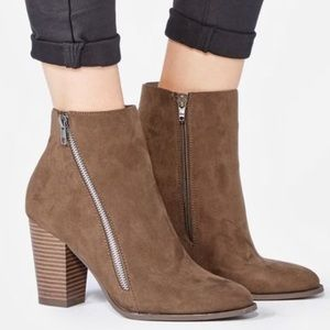 Shoes - FLASH SALE Olive Branch Booties