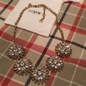 J. Crew sparkle necklace