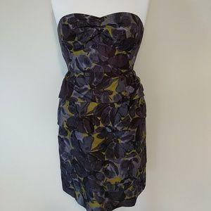 Beautiful silk J. Crew dress