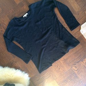 Soft Comfy YA Los Angeles Drapey Open Back Sweater
