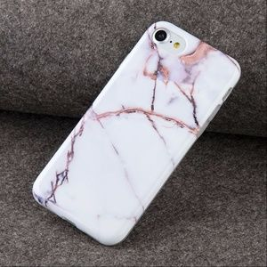 Marble Pattern Rubber Soft TPU IPhone 7 Case
