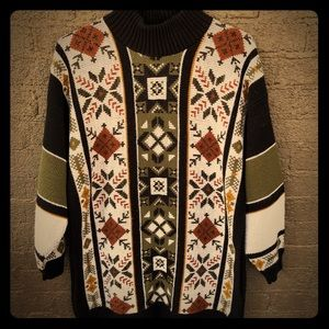 Vintage Clifton Place Long Sweater