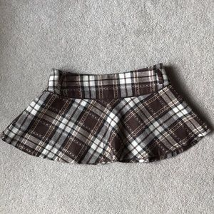 Plaid Mini Skirt - Forever21