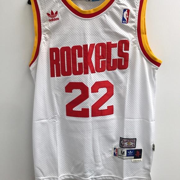 1878e661c8e NWT Clyde Drexler Houston Rockets Jersey Medium