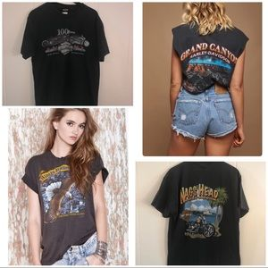 HARLEY DAVIDSON T Shirt NAGS HEAD, NC double sided