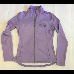 Harley Davidson Women's Fleece Lilac Size Small
