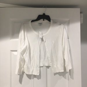 button down open front cardi