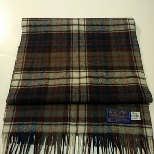 Vintage Pendleton Virgin Wool Scarf!