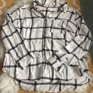 maurices flannel size 3X