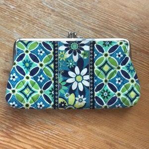 *NWOT*  Floral Vera Bradley Snap Wallet / Clutch