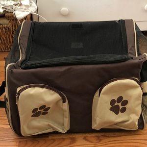 Pet dog cat carrier  bag for car