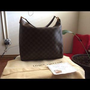 Authentic Louis Vuitton portobello PM Damier Edene