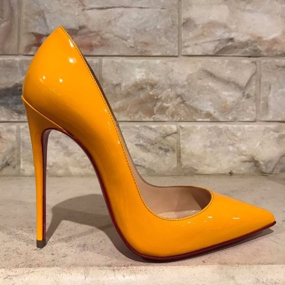 huge discount 7539e d8245 Christian Louboutin So Kate 120 Yellow Full Moon Boutique