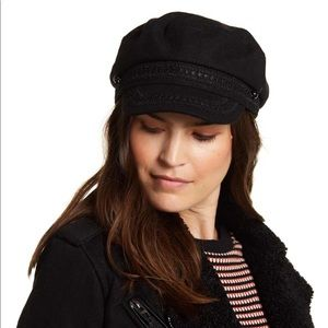 Brixton like Fiddler Cap with lace detail