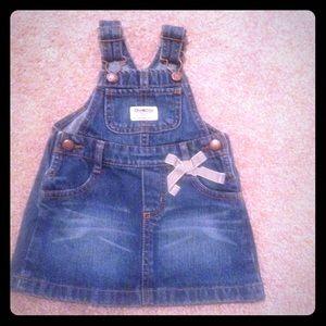 Girl 12 Months overalls skirt