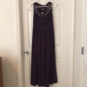 Petite M Plum Dress