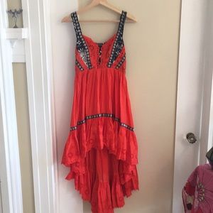 Gorgeous Free People high to low dress