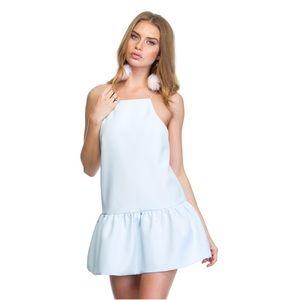 Flirty peplum dress/top