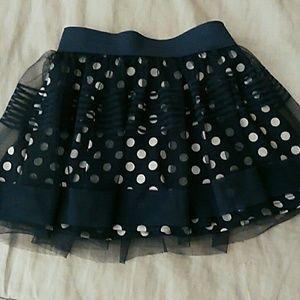 Adorable polkadot skirt