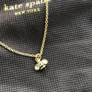 Kate Spade bumble bee necklace